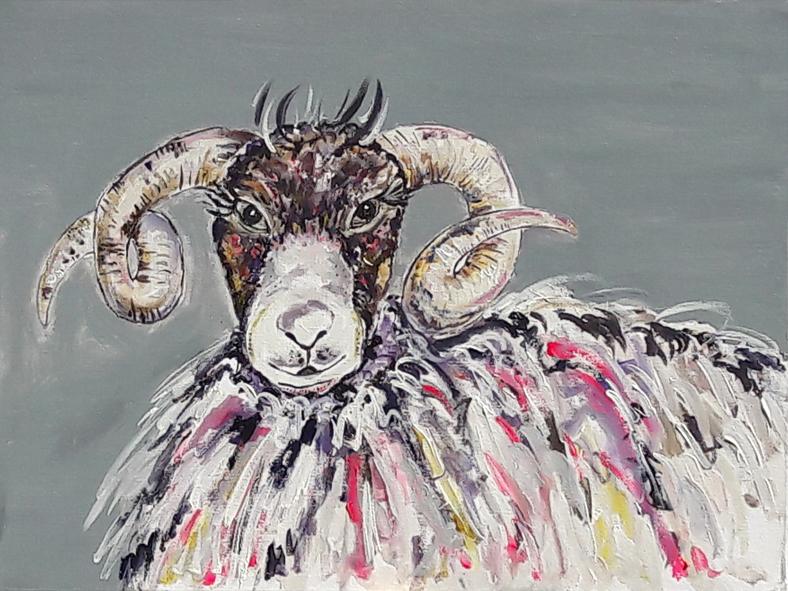 A Sheepish Grin