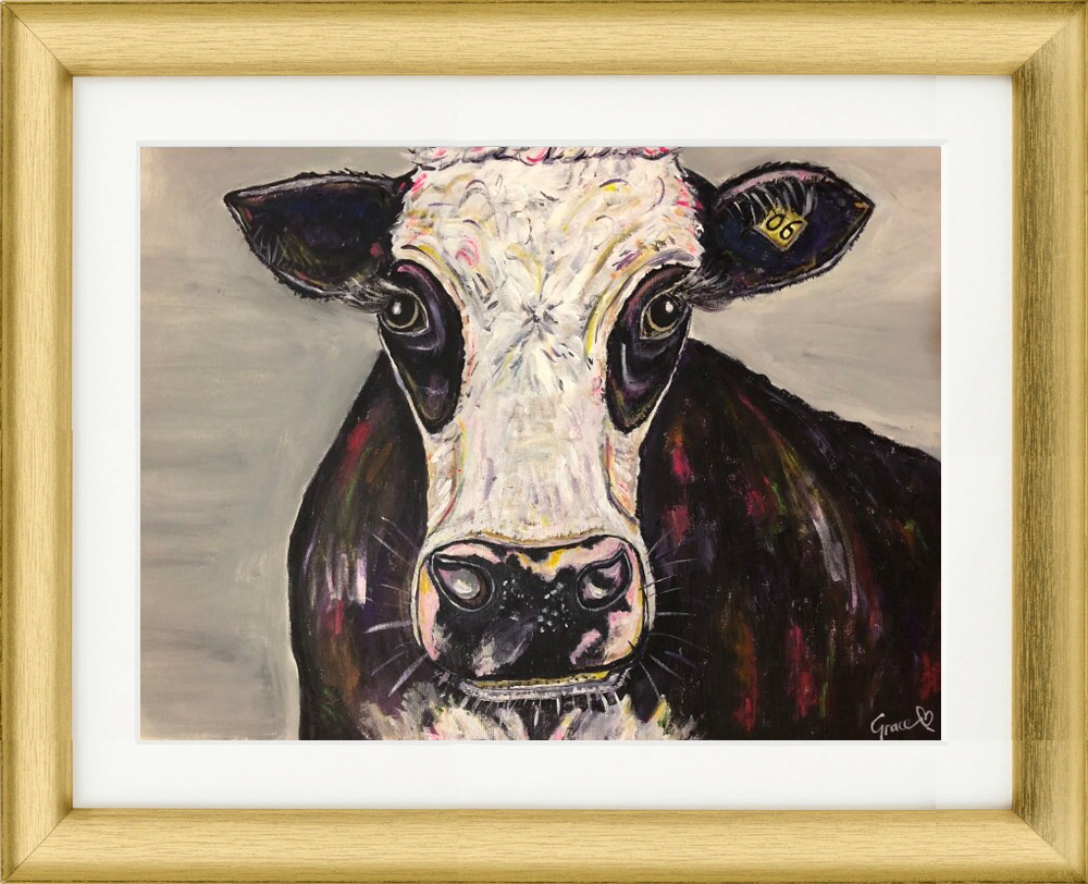 Mary the cow